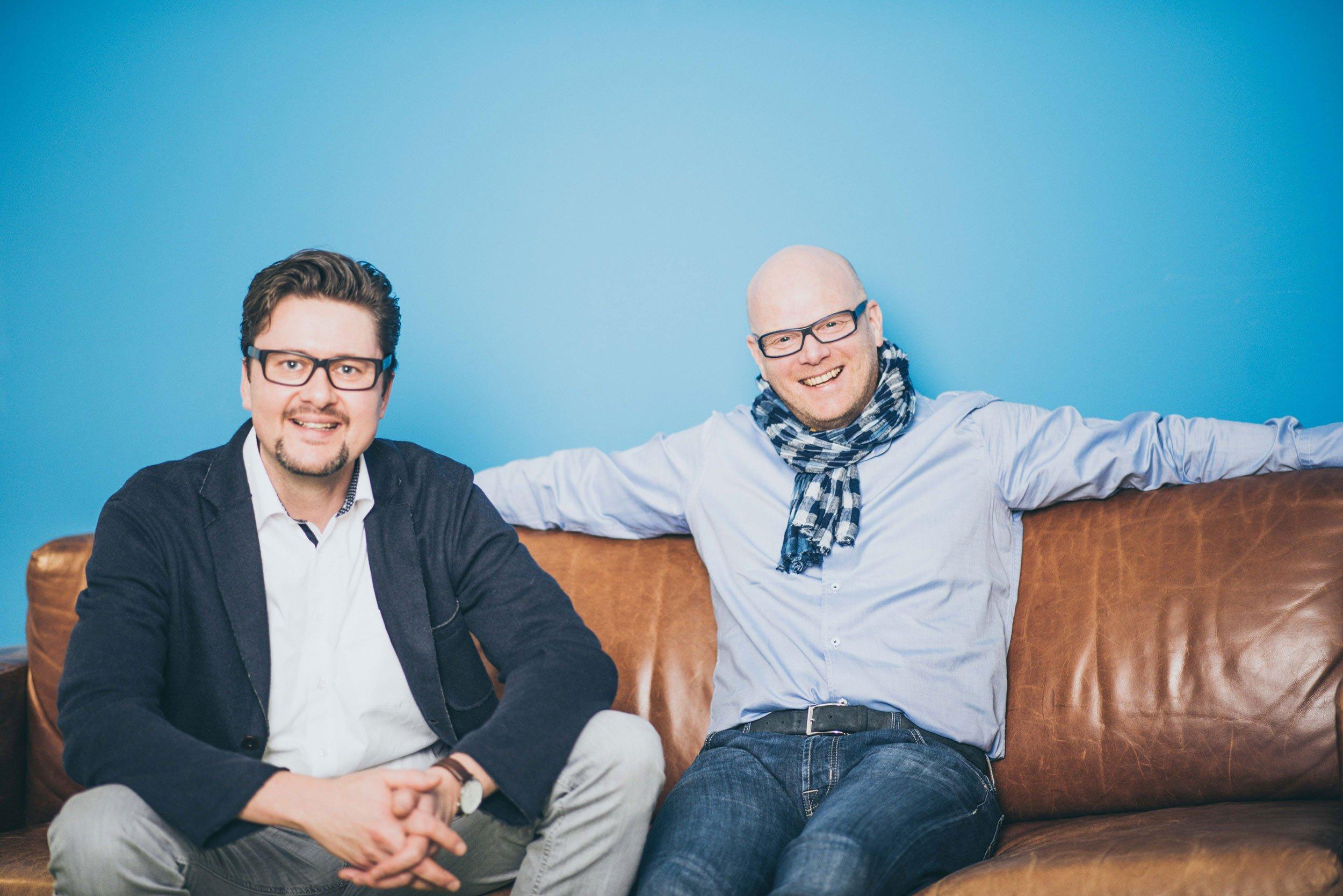 Achim Günter, Jens Schröder, Geschäftsführer vergissmeinnicht GmbH